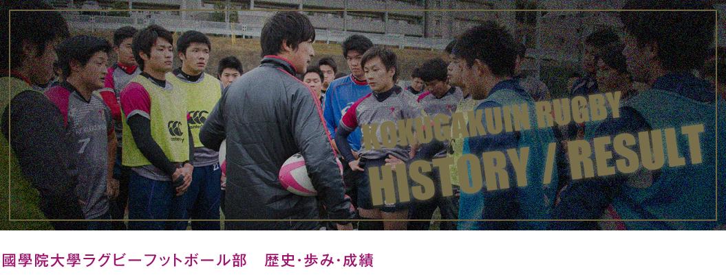 國學院大學ラグビーフットボール部 歴史・歩み・成績